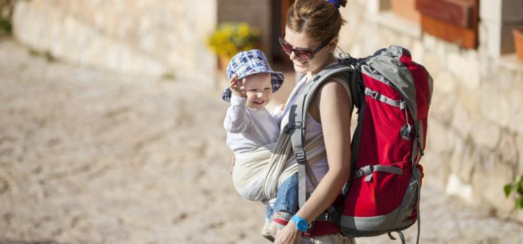 Zalety nosidełek dla niemowląt