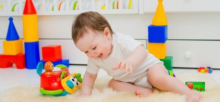 Bezpieczne zabawki dla niemowląt