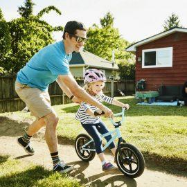 Pierwszy rowerek biegowy. Wjakim wieku?
